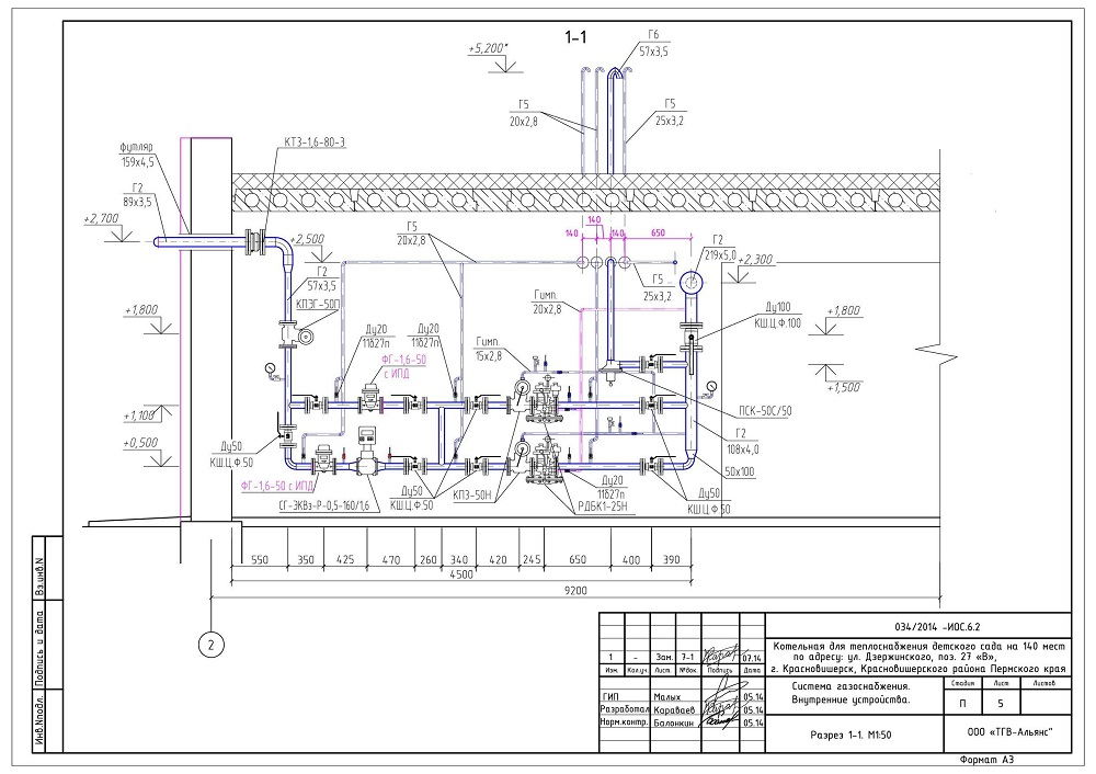 Проектирование газоснабжения новосибирск
